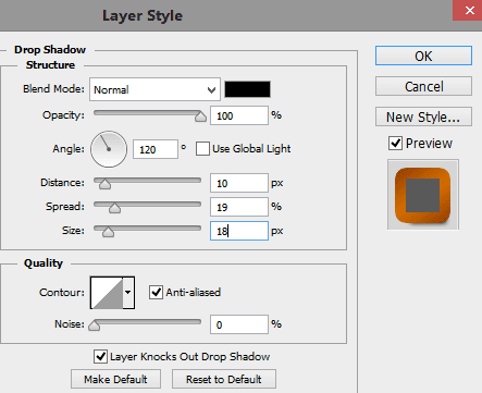 Drop-shadow-settings-for-first-text-layer