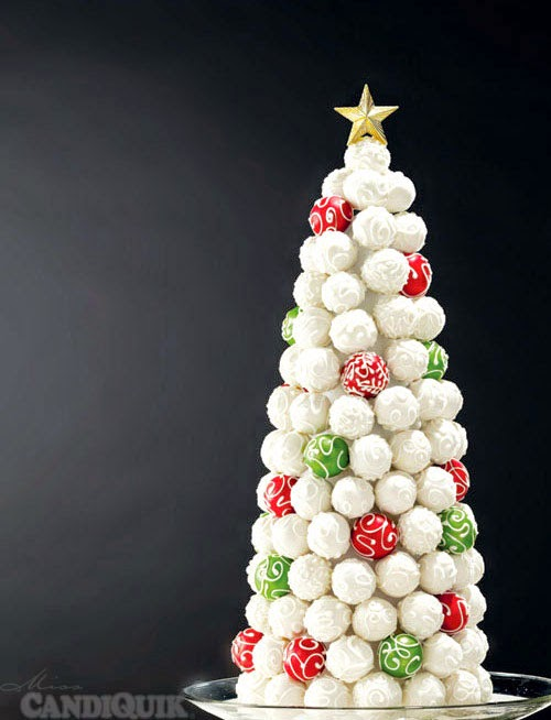 30 Christmas Cake Pops Collection Pint Sized Baker