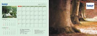 Koleksi Desain kalender premium