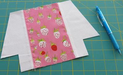 Zip pouches - Pattern from Michelle Patterns - Work in progress