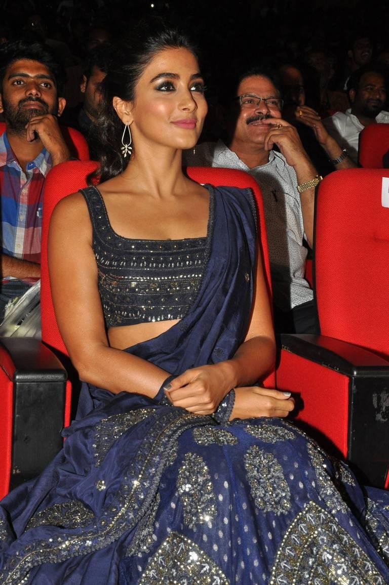 Pooja Hegde At DJ Movie Audio Launch Stills