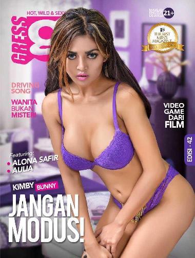 Download GRESS Magazine ED. 42 - September 2016 Aulia, Kimby Bunny, Alona Safir | GRESS is HOT, WILD & SEXY | www.insight-zone.com