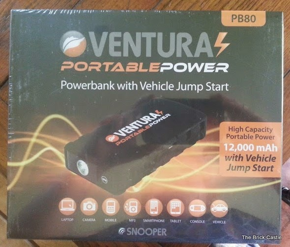 Ventura Portable Power PB80 Powerbank with Jump Start