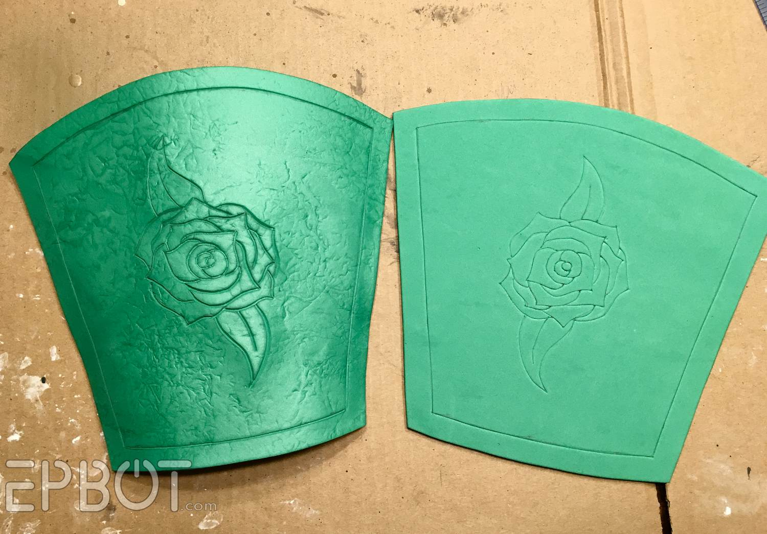 EPBOT: Make These Warrior Belle Leather Bracers    From Fun Foam!