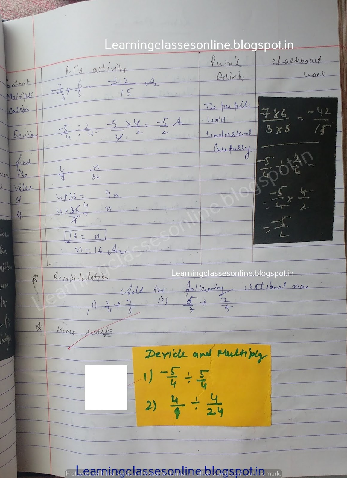 Sample Detailed Lesson Plan In Mathematics Grade 4,