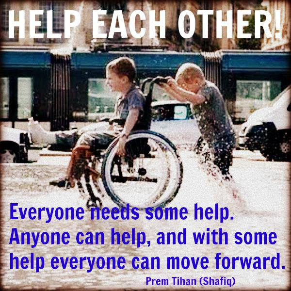 Helping Each Other: Eliminating The Box: Help Each Other