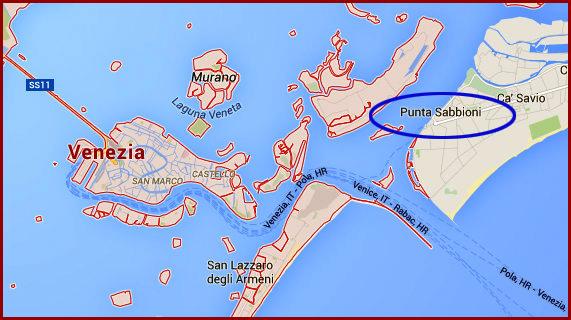 venecija mapa Kao na dlanu : Moj vodič kroz Veneciju (I deo) venecija mapa
