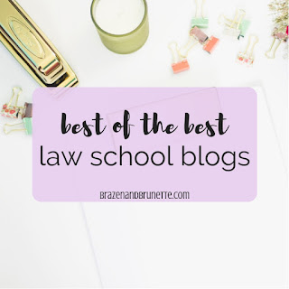 Over 40 law school blogs to read right now to help you concur the LSAT, tackle your law school applications, and be prepared as a 1L. law school blogs. law student blogs. prelaw blogs. | brazenandbrunette.com