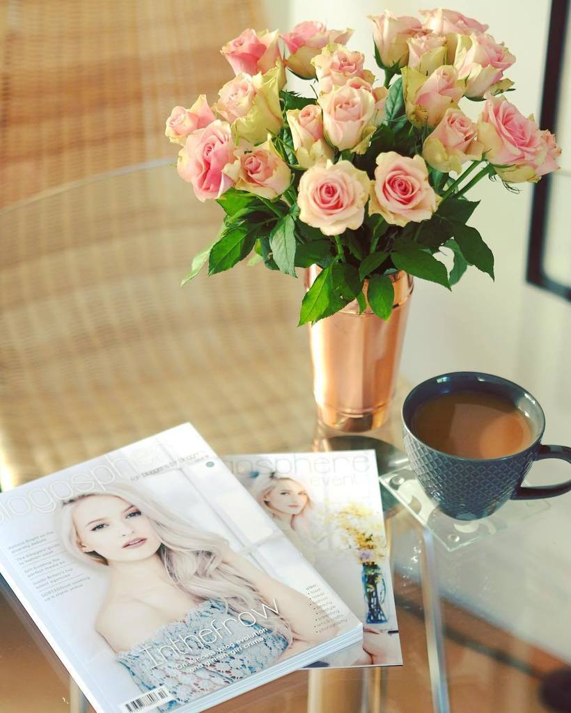 Roses, Tea & Blogosphere Magazine