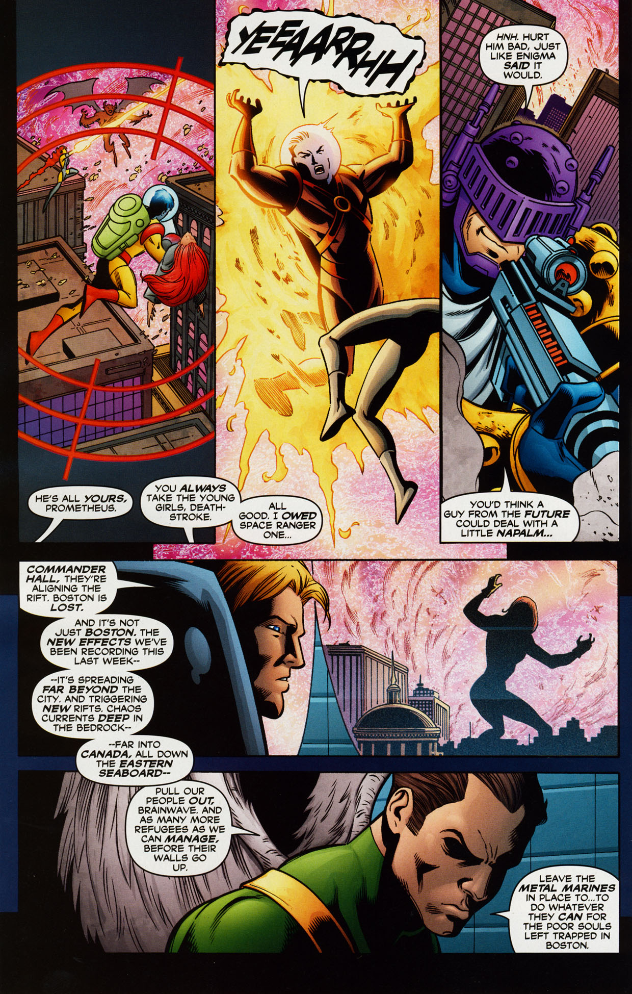 Read online Trinity (2008) comic -  Issue #38 - 22