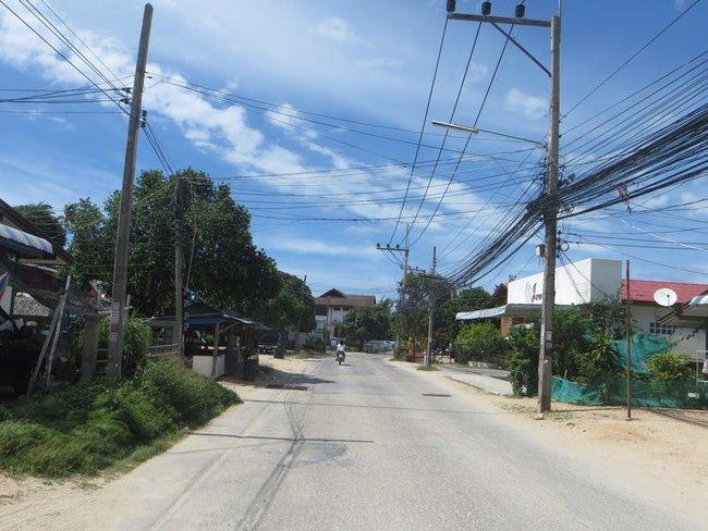 Куча проводов Таиланд