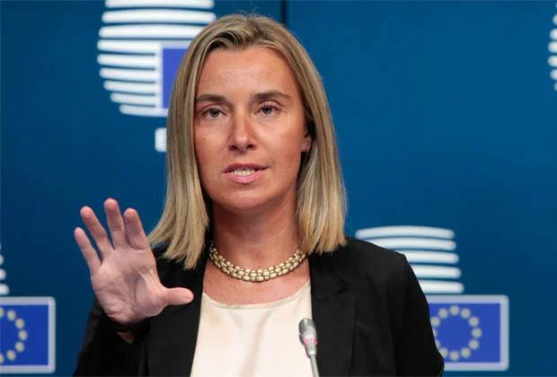 Mogherini: La UE no abrirá un diálogo con el Gobierno