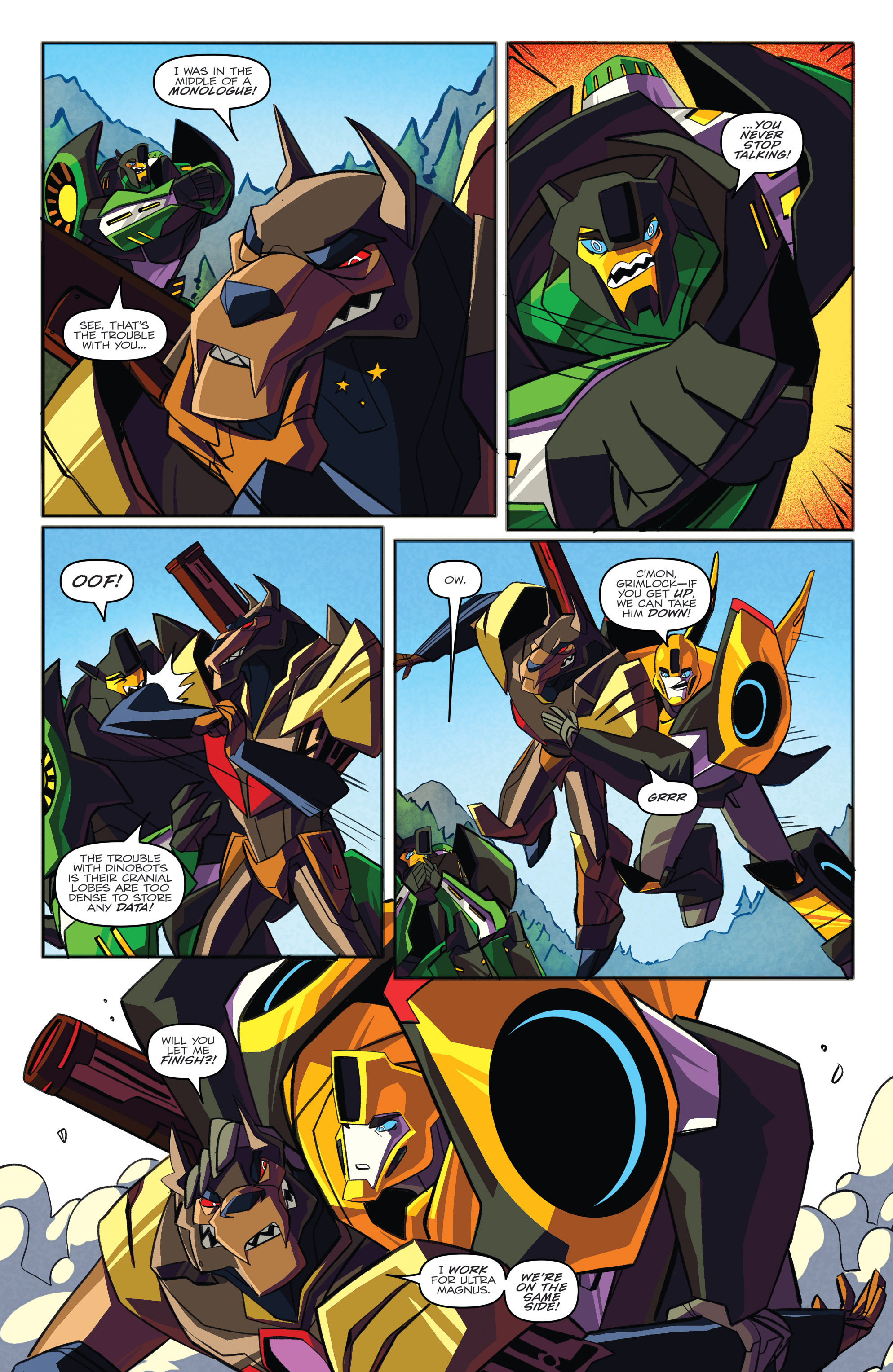 Read online Transformers: Robots In Disguise (2015) comic -  Issue #3 - 20