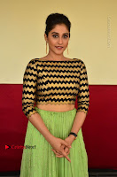 Actress Regina Candra Latest Pos in Green Long Skirt at Nakshatram Movie Teaser Launch  0139.JPG