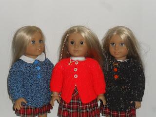 free doll cardi pattern
