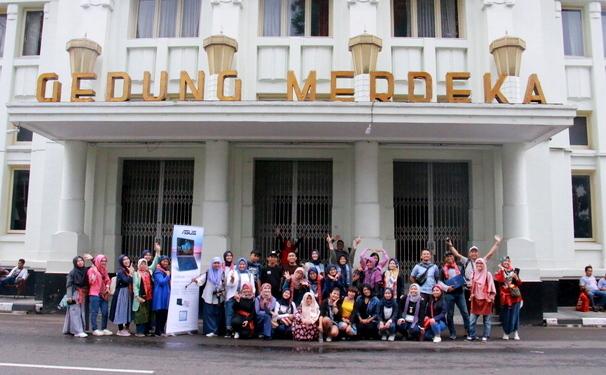 ASUS ZenBook Blogger Gathering Bandung -  Gedung Merdeka 13/4/2019