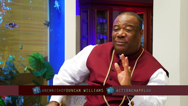 Archbishop Duncan-Williams urges calm as he predicts wars, tortuous times ahead