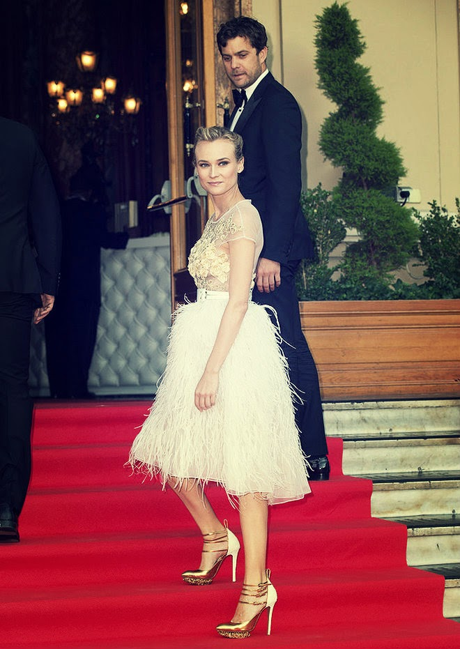 Diane Kruger in Prabal Gurung Gowns