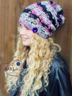 Jill Slouchy Hat, crochet pattern, www.KristiSimpson.net