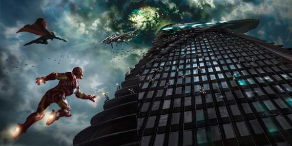 T i e r r a F r e a k: The Avengers: Concept Arts de Andy