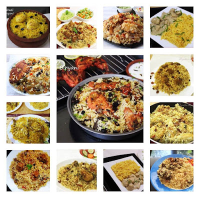 biryani recipes rice dishes one pot meal special rice recipes