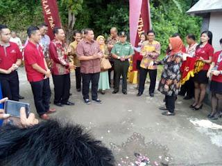 Peran TNI Dan POLRI Dalam Pembangunan Jembatan Penghubung Lintas Daerah