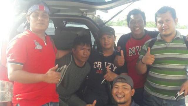 Begini Penampakan Ius Pane Saat Ditangkap di Medan