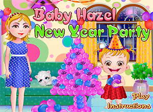Baby Hazel New Year Party