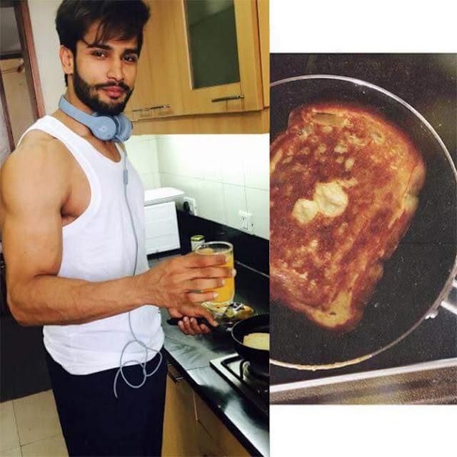 Rohit Khandelwal diet plan
