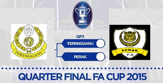 Terengganu Vs Perak 7 April 2015 Piala FA Suku Akhir