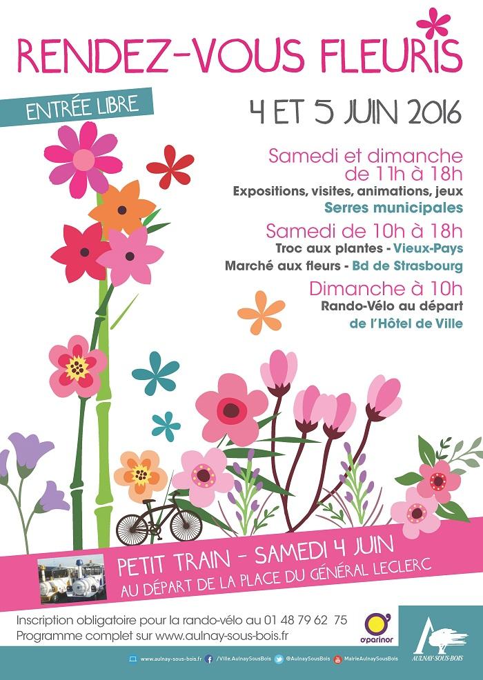 Rendez-vous Fleuris - Aulnay-sous-Bois