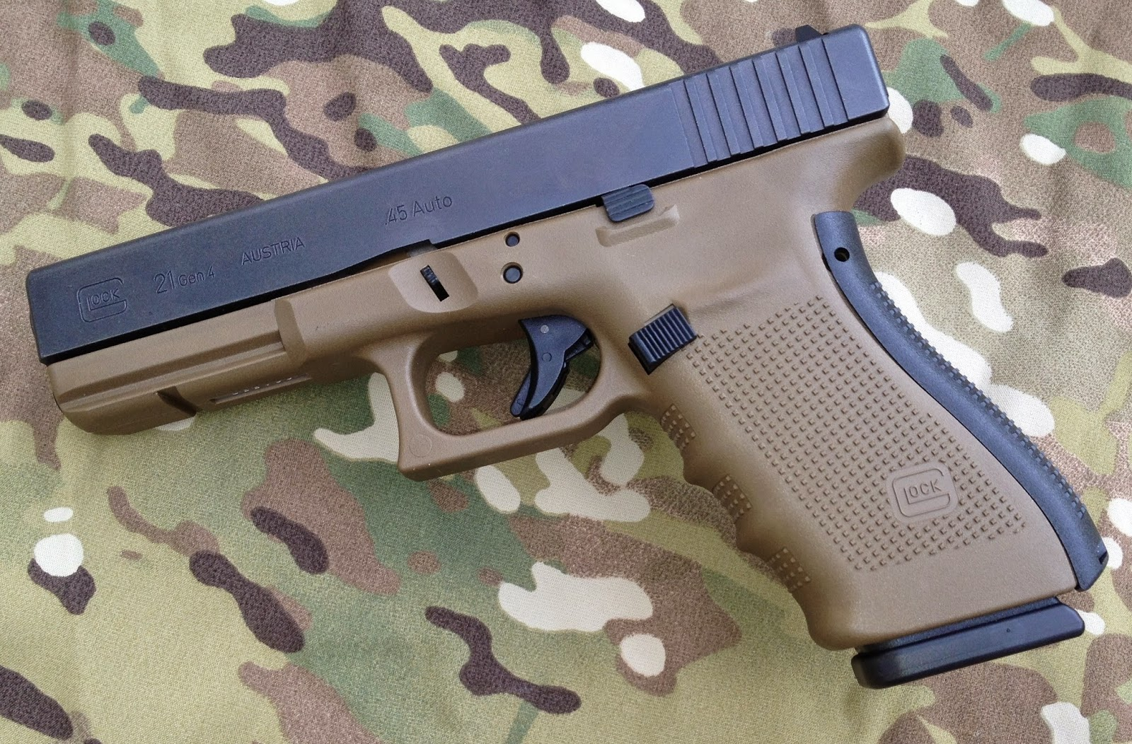 Glock 21 .45 Next Army Pistol