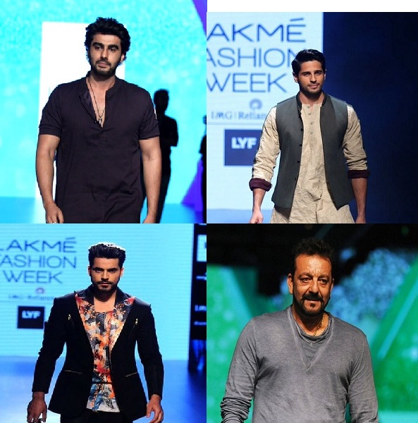 B-Town Hunks At The Lakme Fashion Week 2016