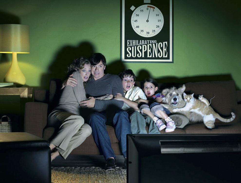 Во время секса он смотрит телевизор
