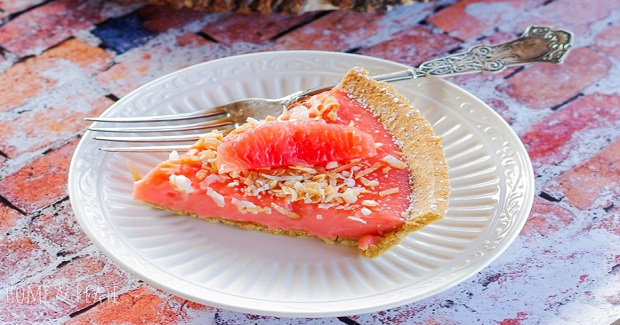 Ruby Red Grapefruit Tart Recipe