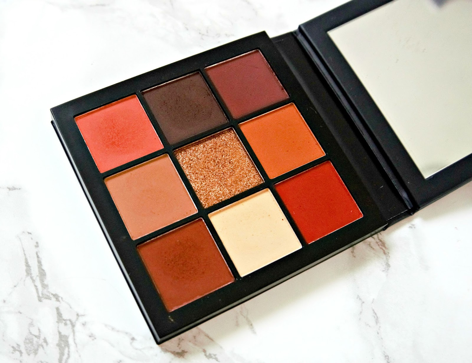Huda Mini Palette, Warm Brown Obsessions, Review