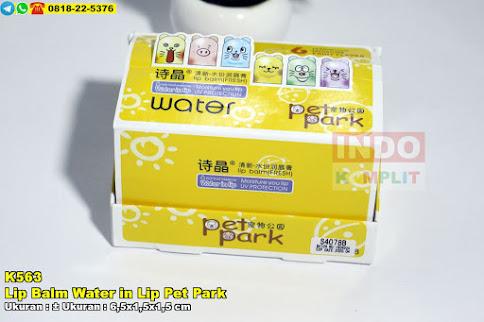Lip Balm Water in Lip Pet Park