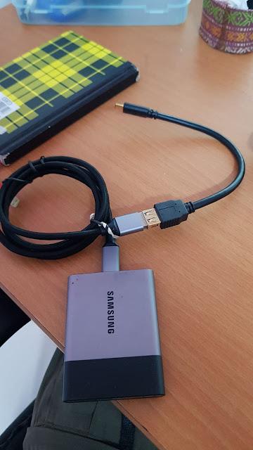 SSD External + OTG 3.0 Type C