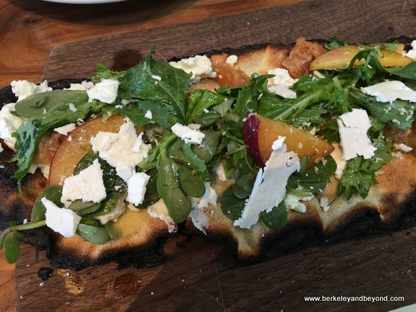 flatbread at The Advocate in Berkeley, California