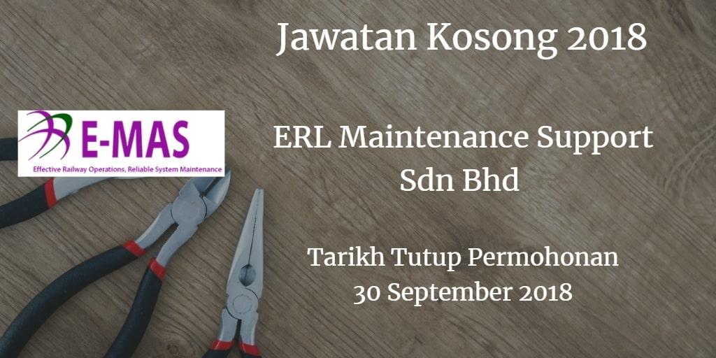 Jawatan Kosong E-MAS 30 September 2018