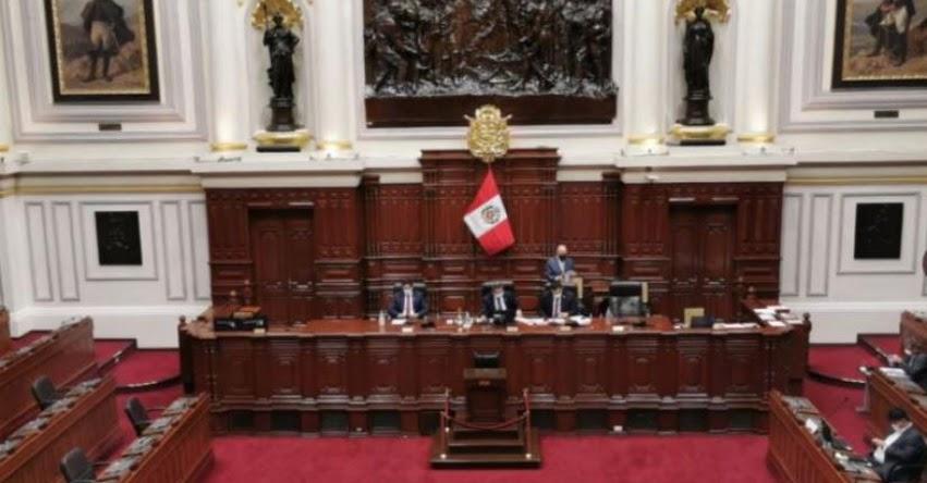 Congreso aprueba que sentenciados en primera instancia no puedan postular a un cargo público