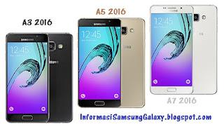 Samsung A series (2016): Galaxy A3 vs A5 vs A7 Harga dan Spesifikasi