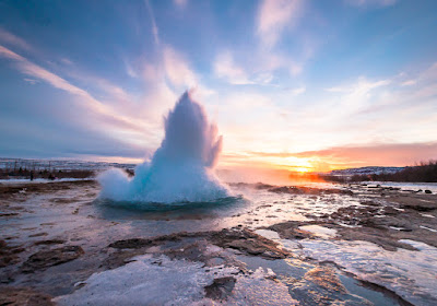 Strokkur geyser and geysers at Geysir make great day trips from Reykjavik