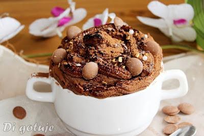 Deser/krem czekoladowy z tofu