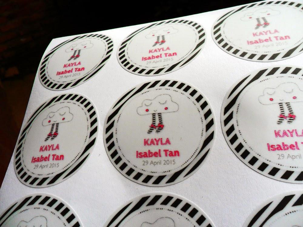 Sticker Vinyl Print N Cut Seven Sticker