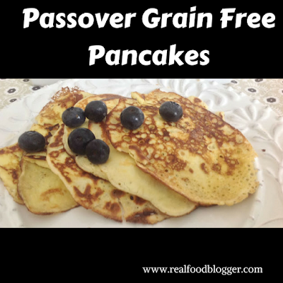 Passover pancakes at http://realfoodblogger.com