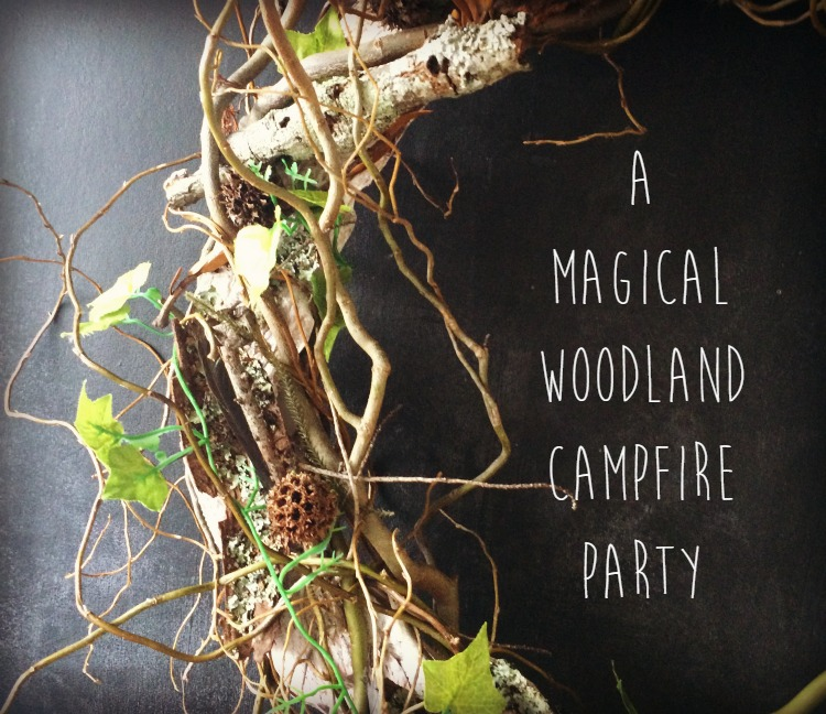 A Magical Woodland Campfire Party