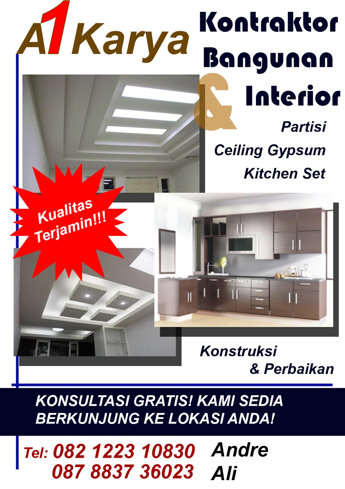 Brosur Kitchen Set