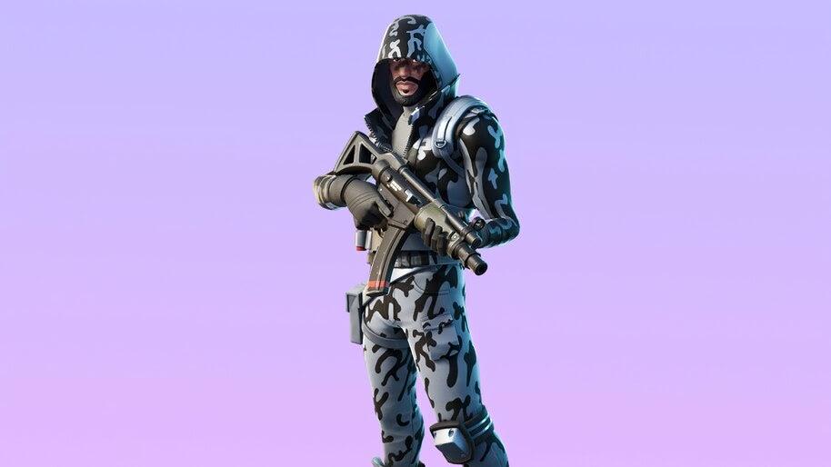 Snow Striker, Fortnite, Skin, Outfit, 4K, #7.897