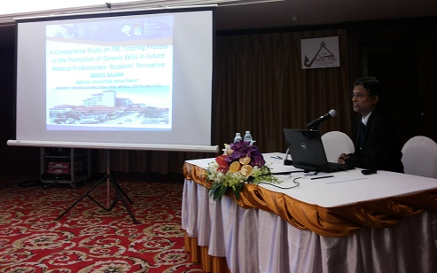 Presenting Paper A Comparative Study on PBL, 3rd APJC-PBL-2014, Thailand